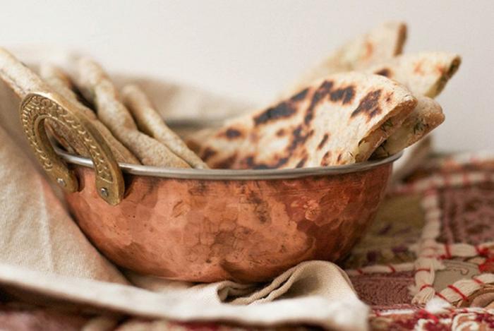 Алу-паратха - лепешки с картофелем
