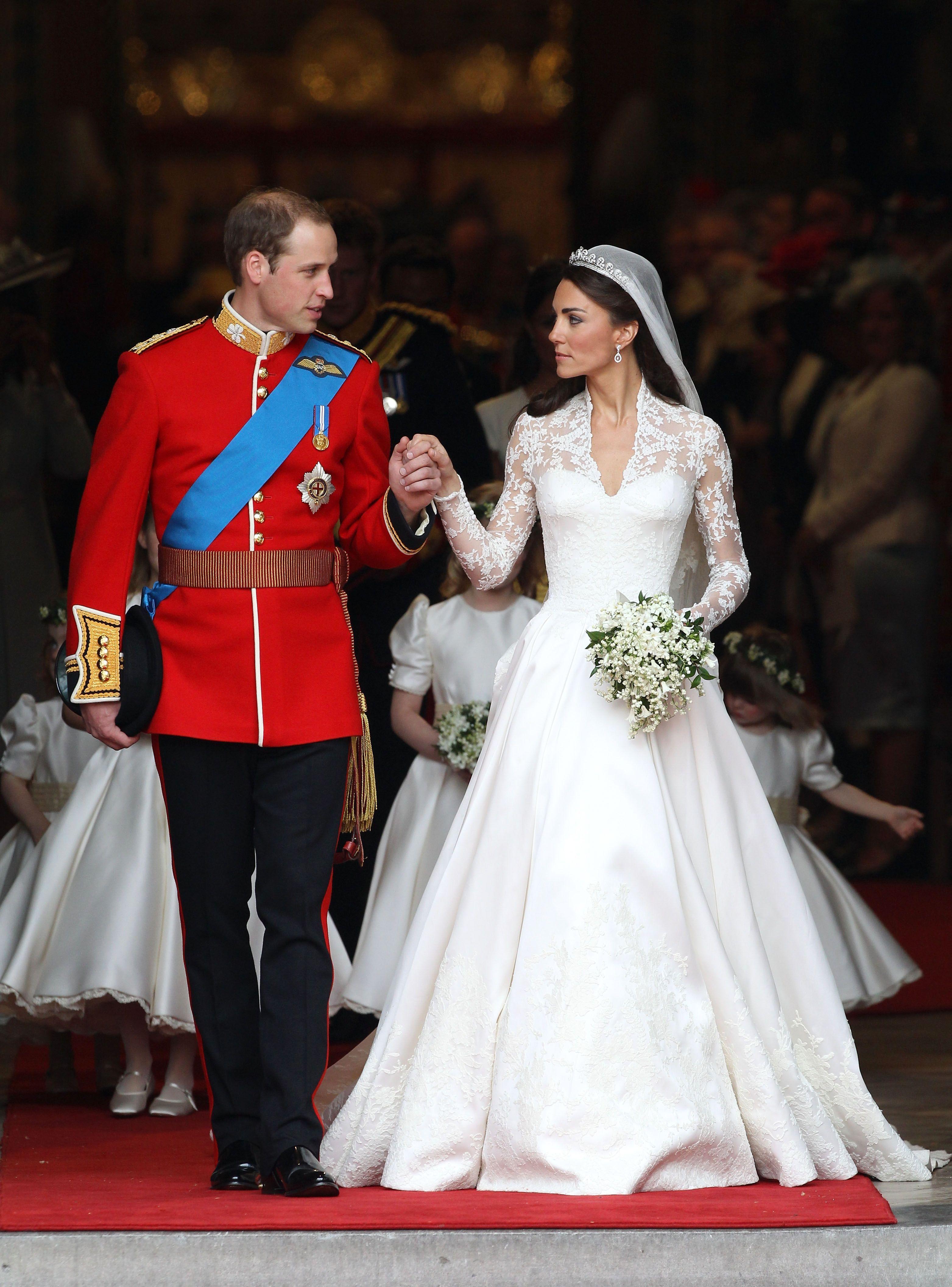 Кейт Мидллтон и герцог Кембриджский Уильям