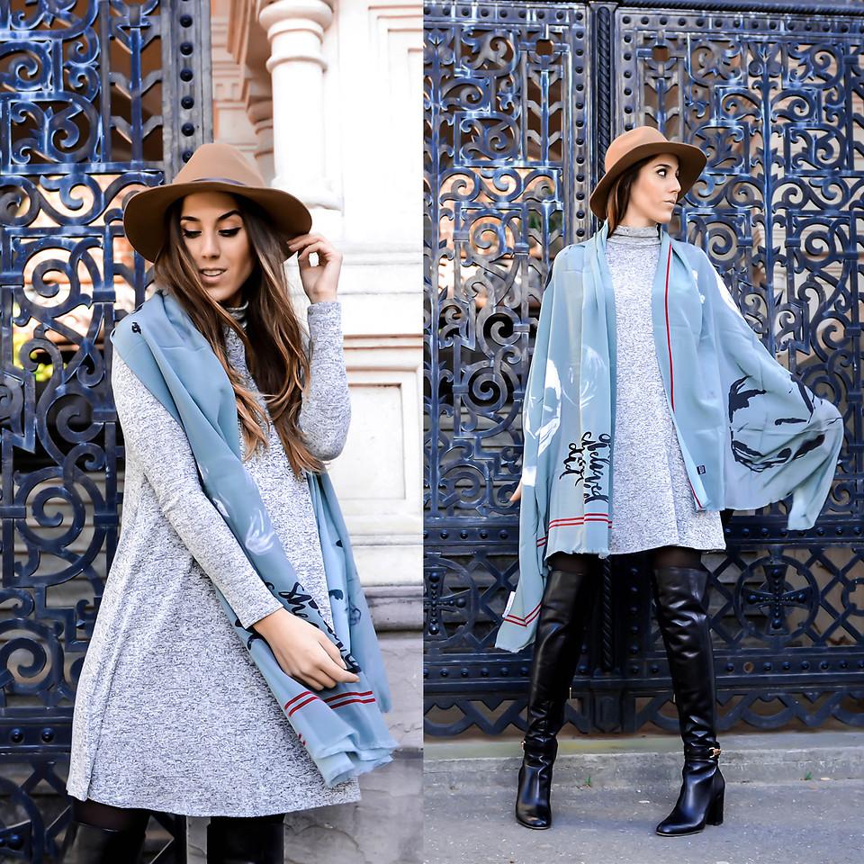 Стильный платок станет изюминкой твоего весеннего образа