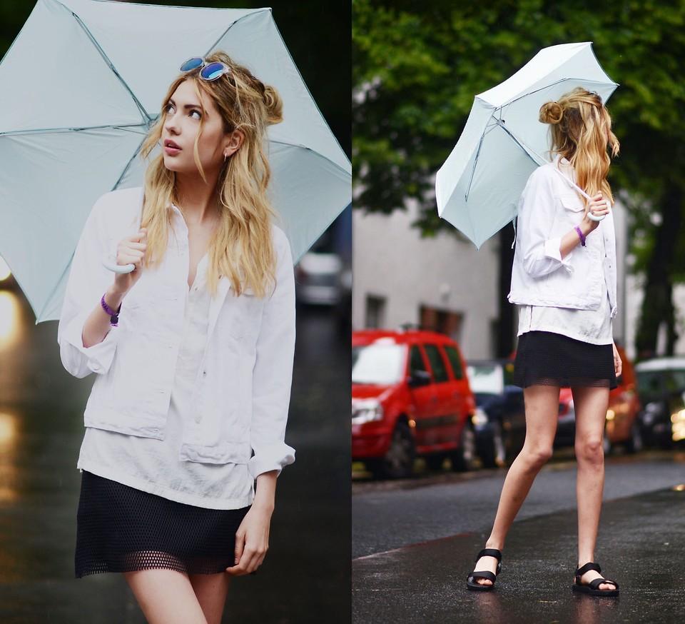 Стильные образы в дождливую погоду