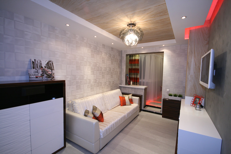 Комната 12 кв м дизайн с балконом
