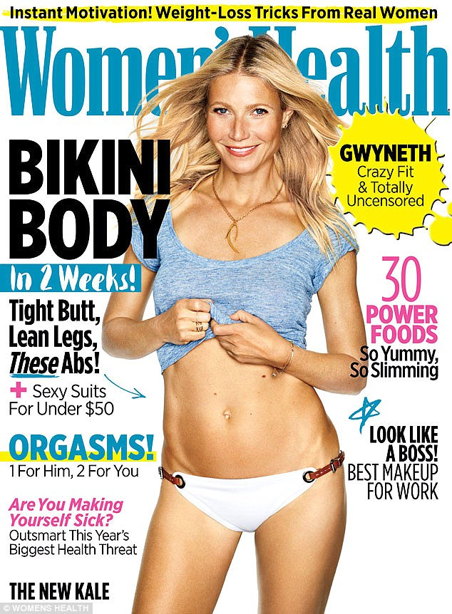 Гвинет Пэлтроу поделилась секретами красоты и стройности с Women's Health