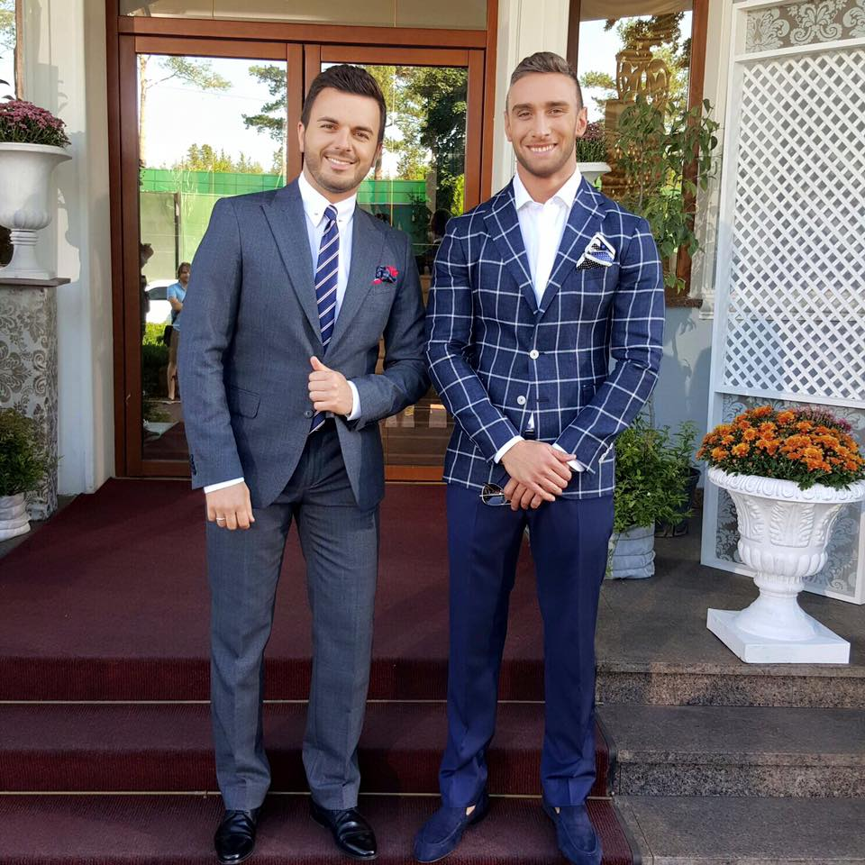 Григорий Решетник и Иракли Макацария (справа)