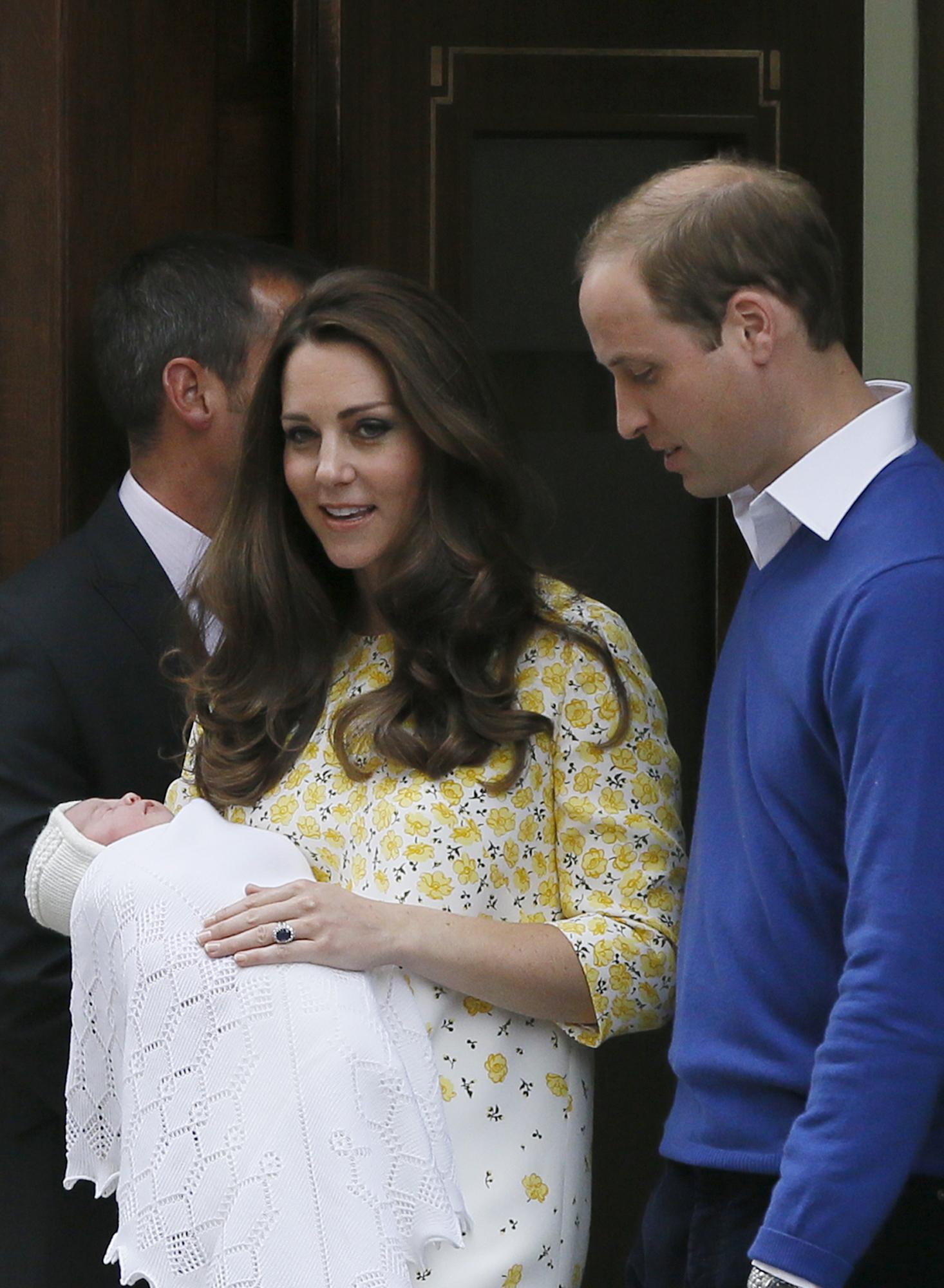 Рождение ребенка у кейт миддлтон фото