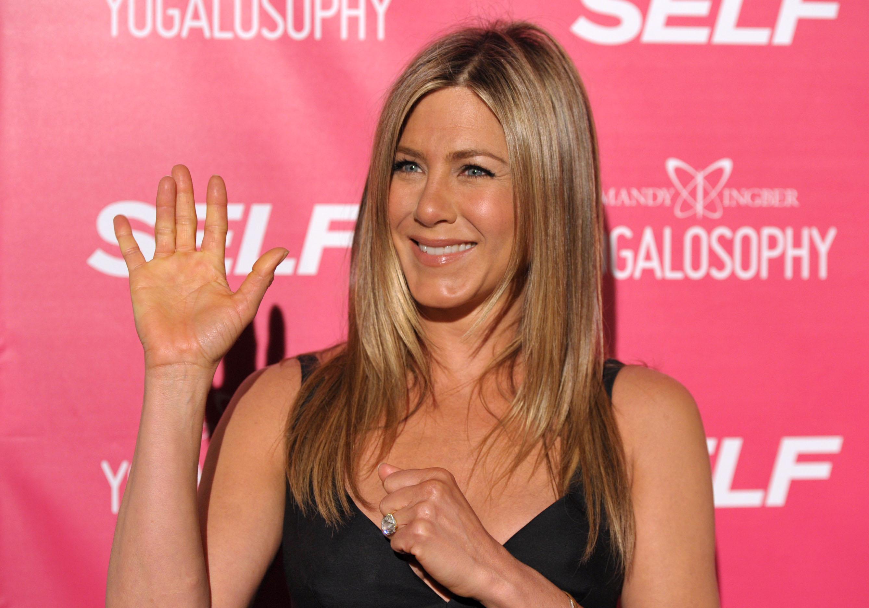 44-летняя Дженнифер Энистон – обладательница самых знаменитых волос в Голливуде