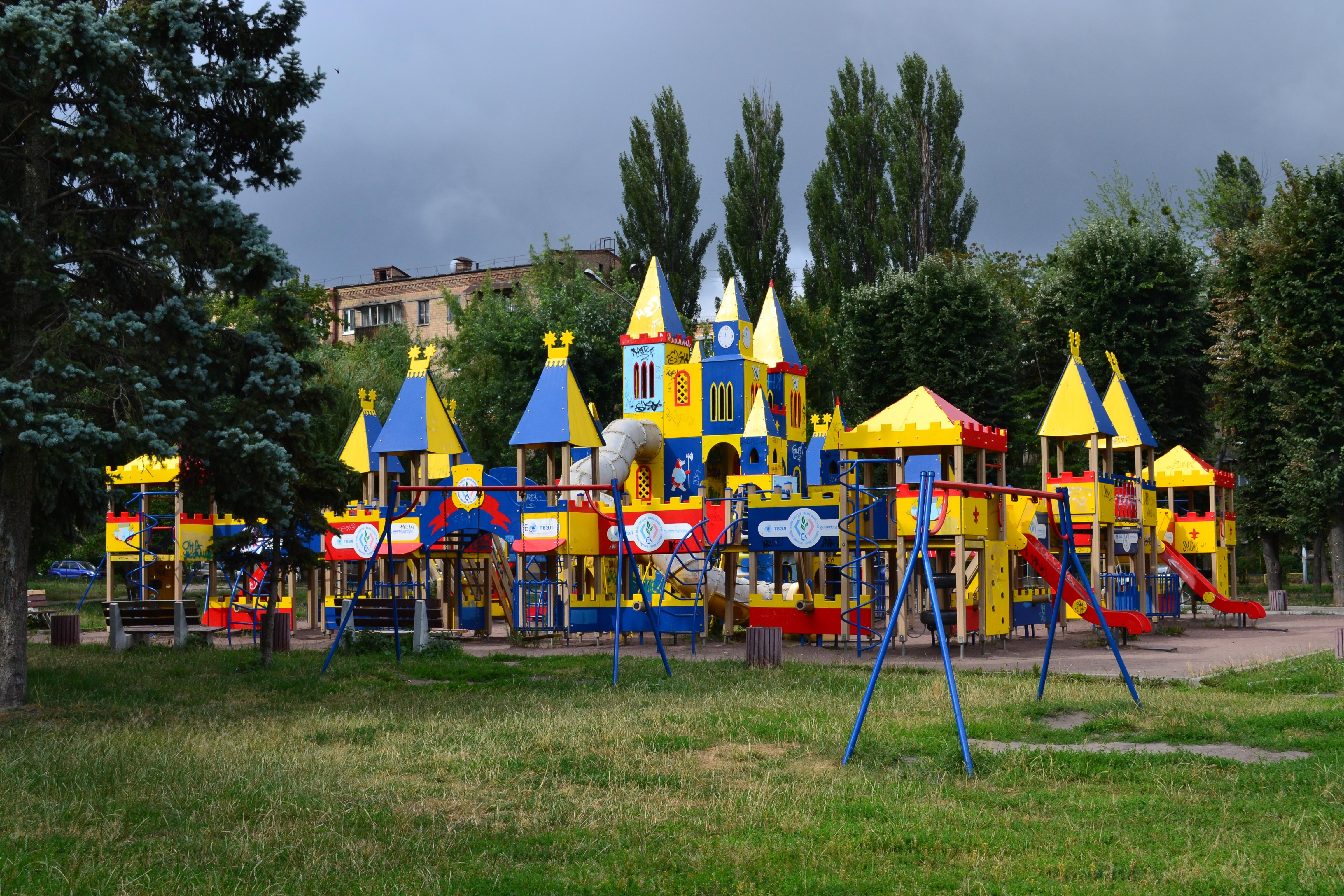 куда пойти с ребенком, Площадка на улице Ереванская