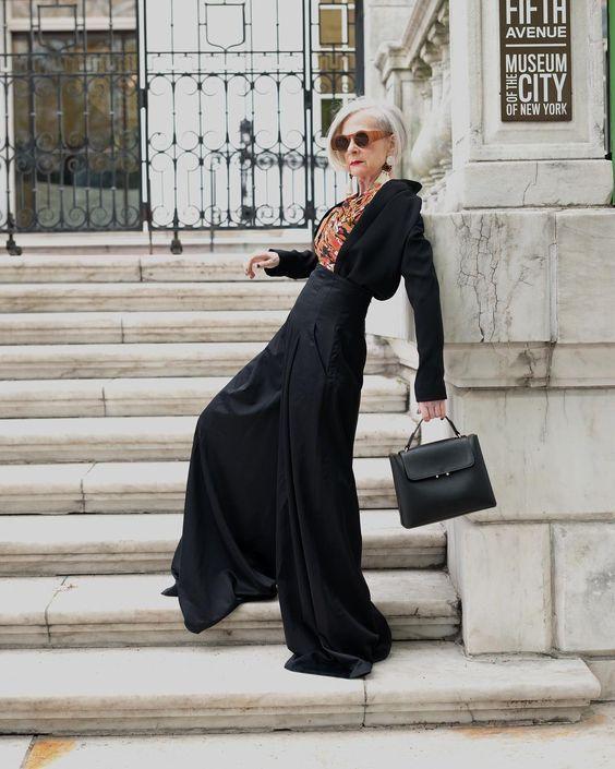 Стиль итальянских женщин пенсионного возраста