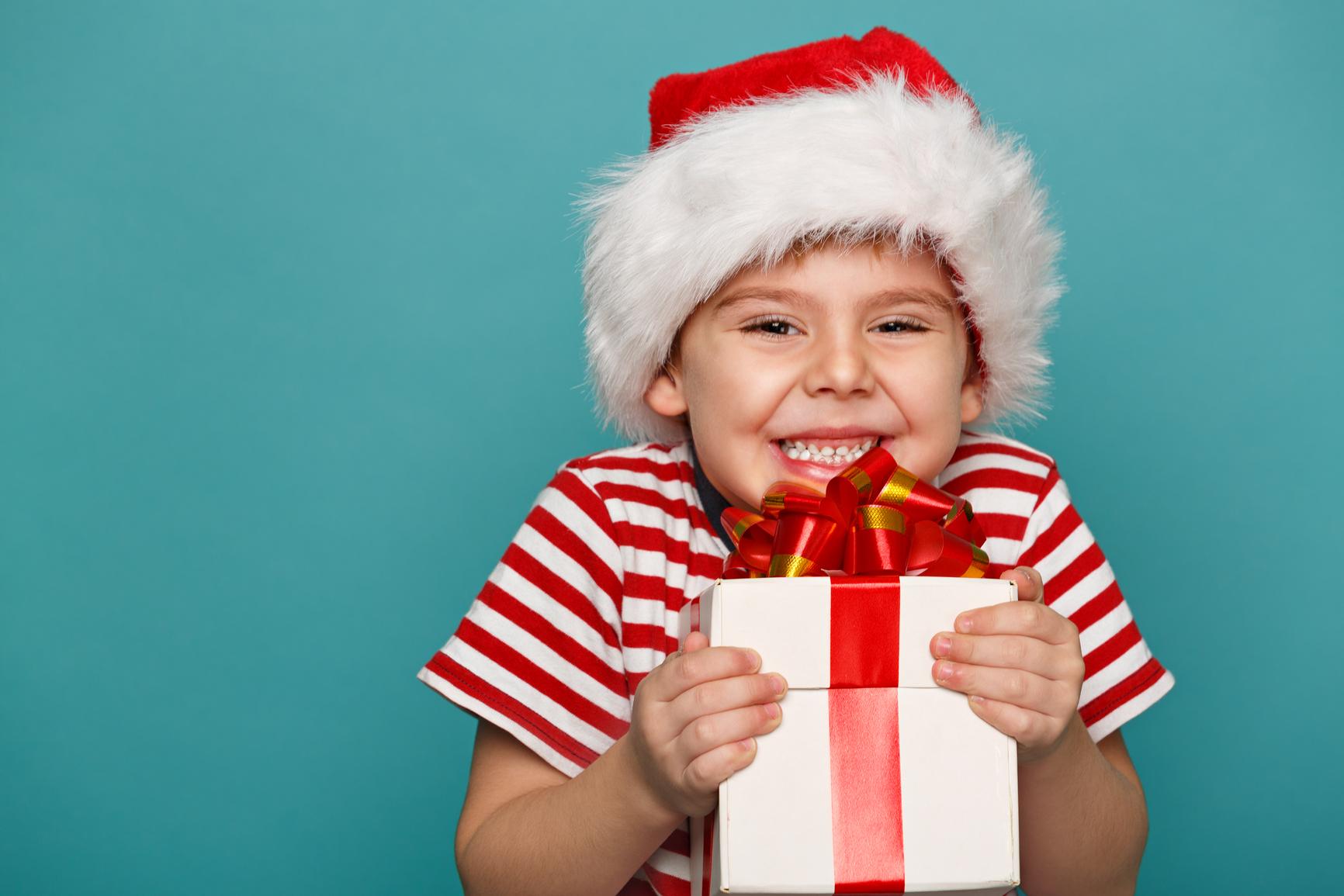 Радость ребенка на подарок 75