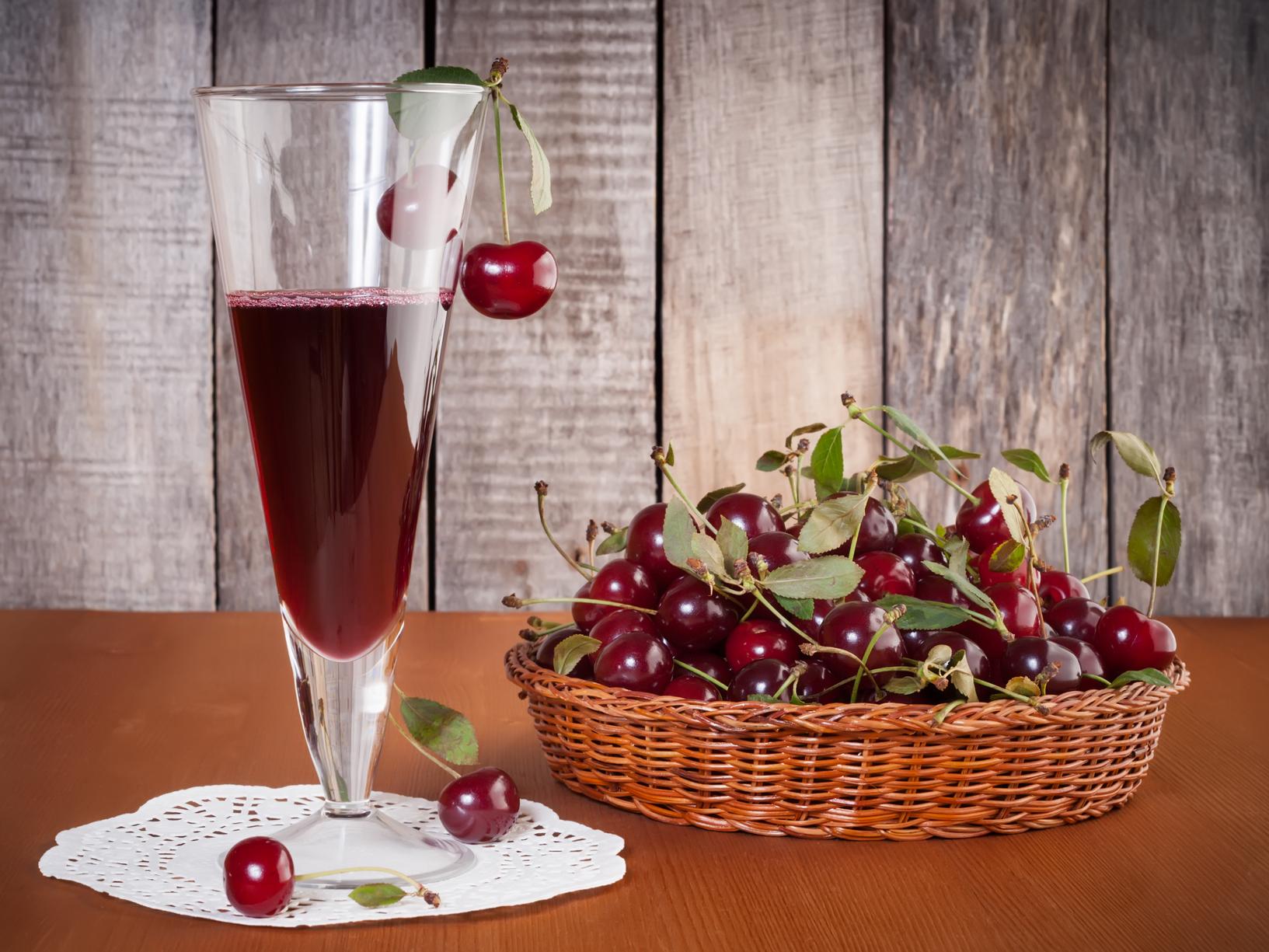 Вишневое вино рецепт