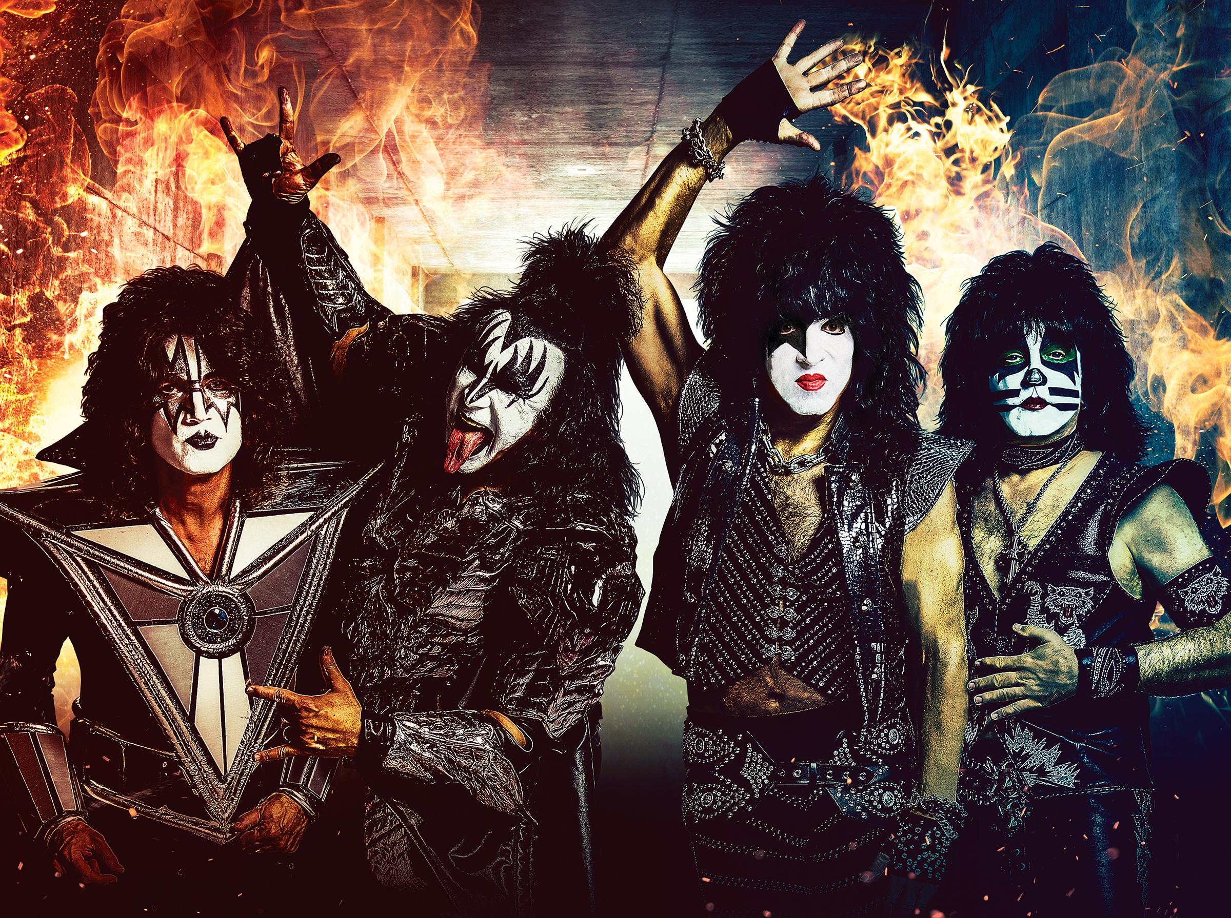 Легендарные Kiss выступят в Киеве: ТОП-10 хитов группы