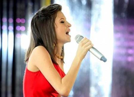 Татьяна Ширко заняла второе место на Новой волне 2010
