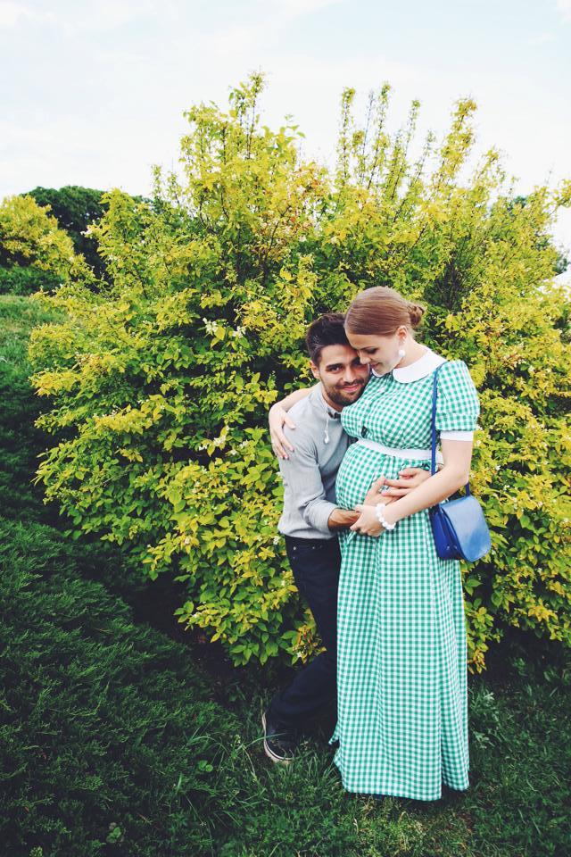 Мария и ее гражданский муж Александр Чунин ждут пополнения в семействе
