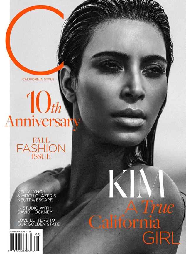 Телезвезда Ким Кардашян для C Magazine