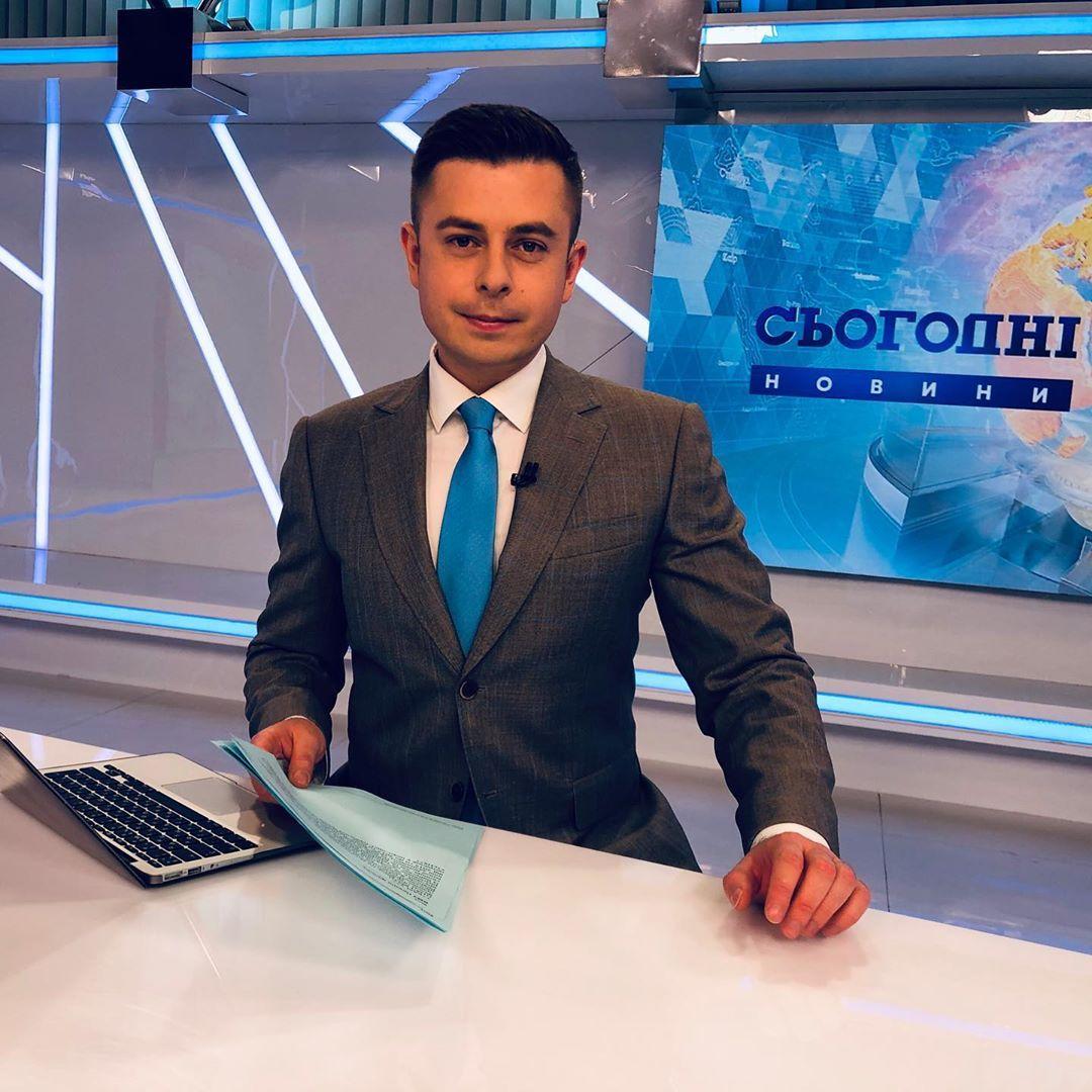 Телеведущий Виталий Школьный празднует день рождения