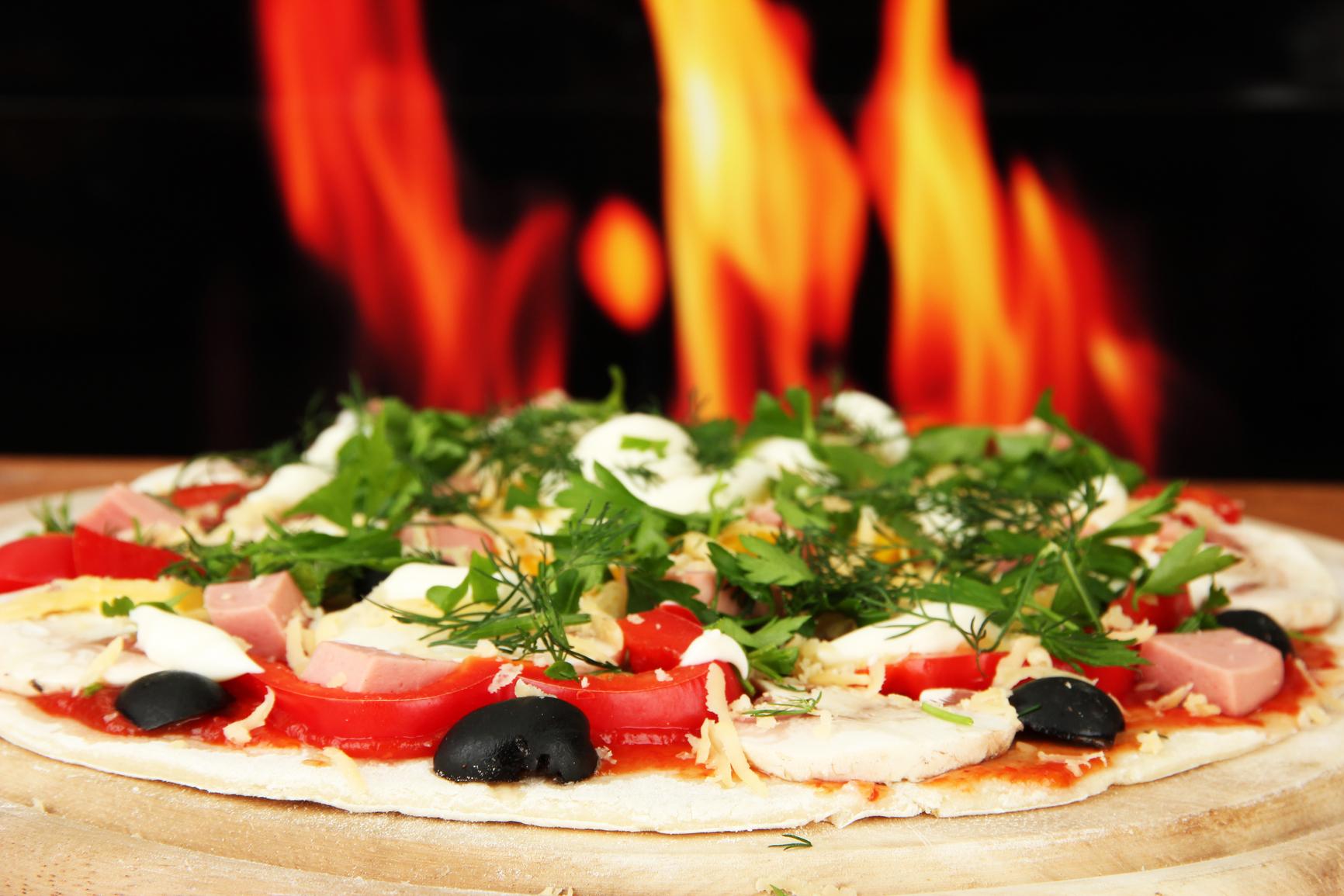 как приготовить пицу с видео