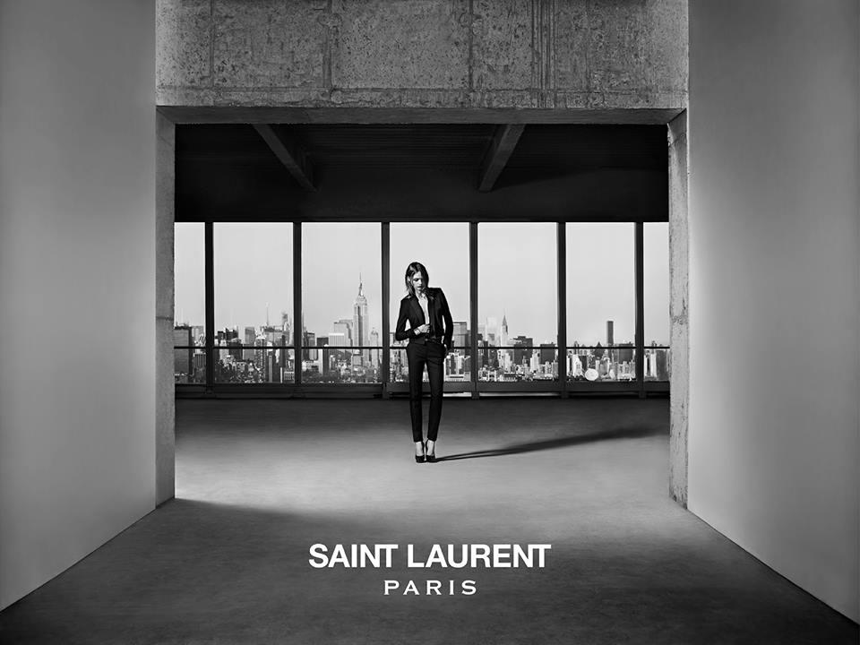 Саша Пивоварова - лицо круизной коллекции Saint Laurent