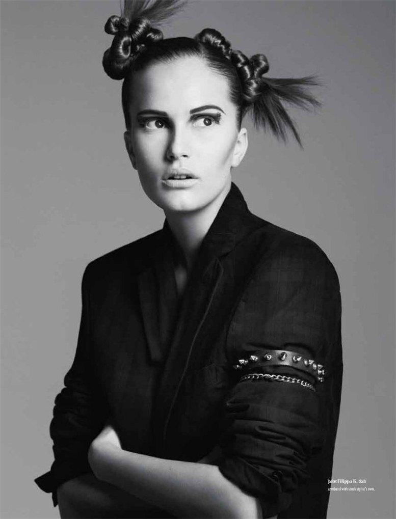 Алла Костромичева сейчас одна из самых востребованных моделей в мире