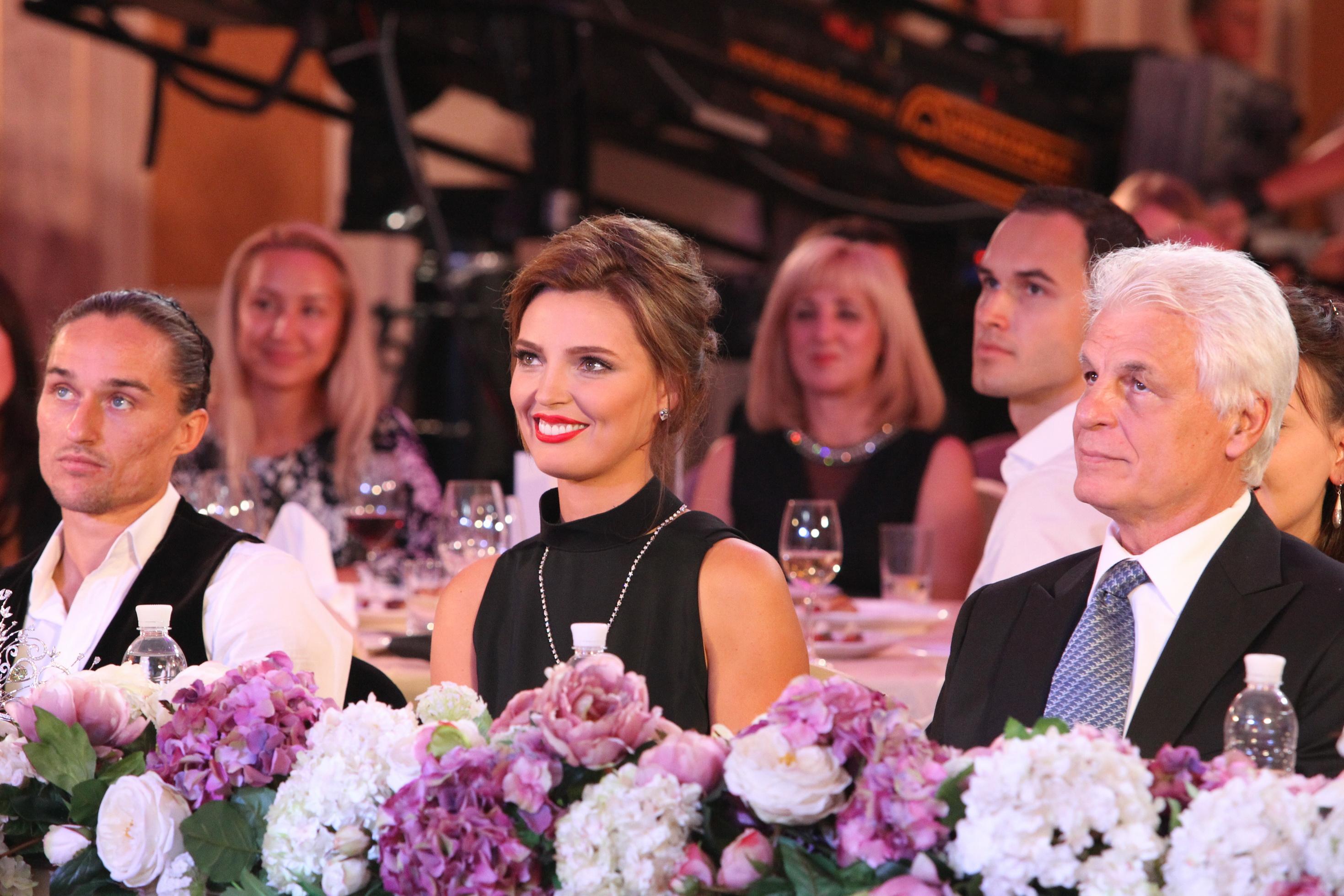 Президент конкурса Мисс Украина Вселенная 2013 Александра Николаенко