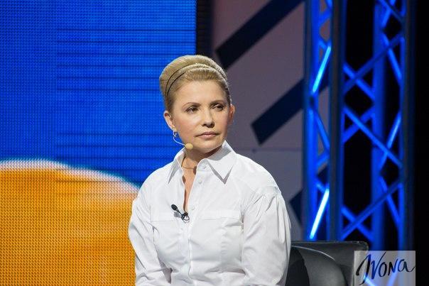 тимошенко новая прическа