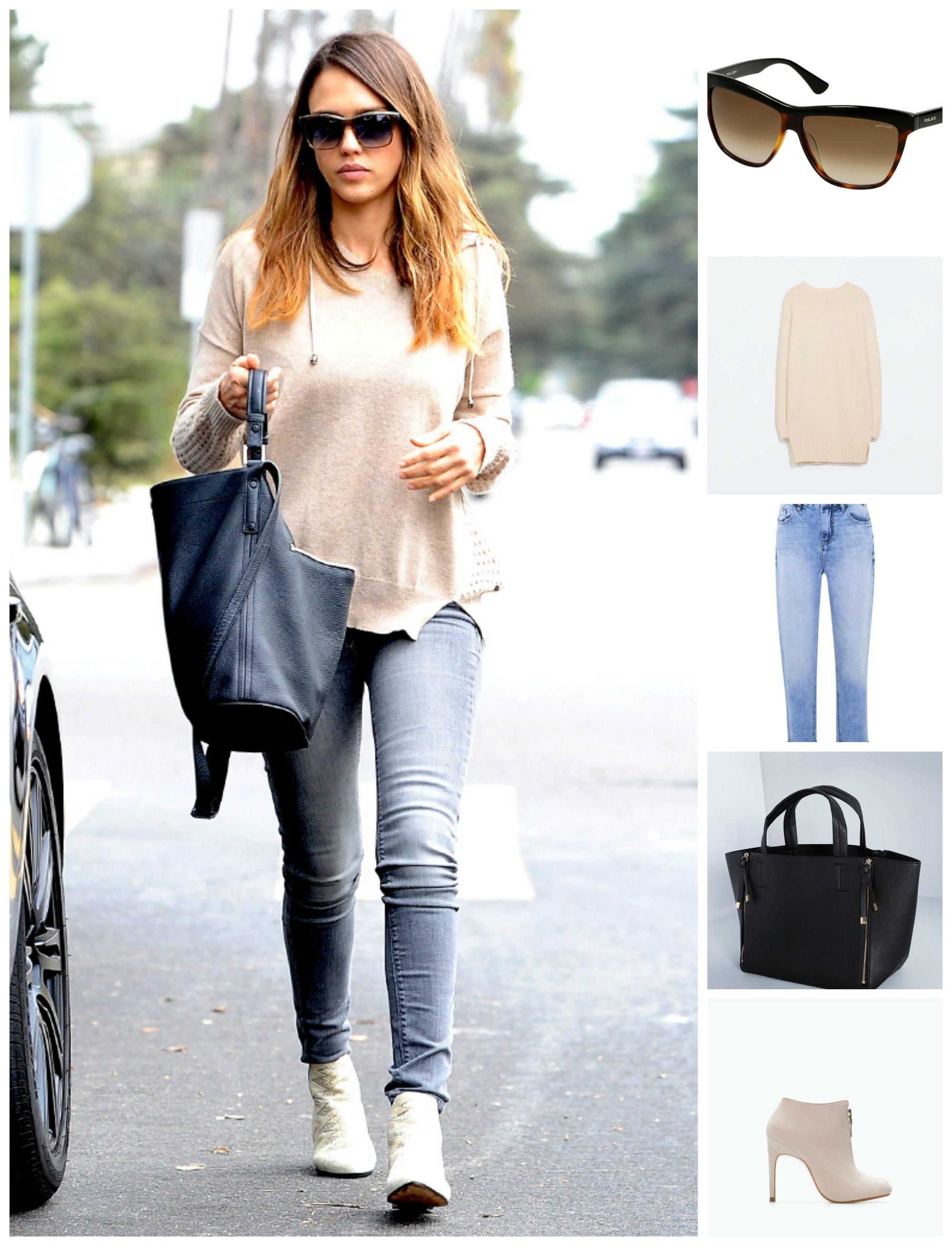 Модные стили из простых вещей