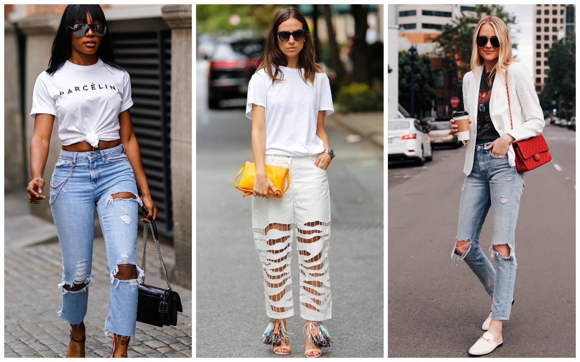Рваные джинсы не впишутся в ваш гардероб женщины 30+