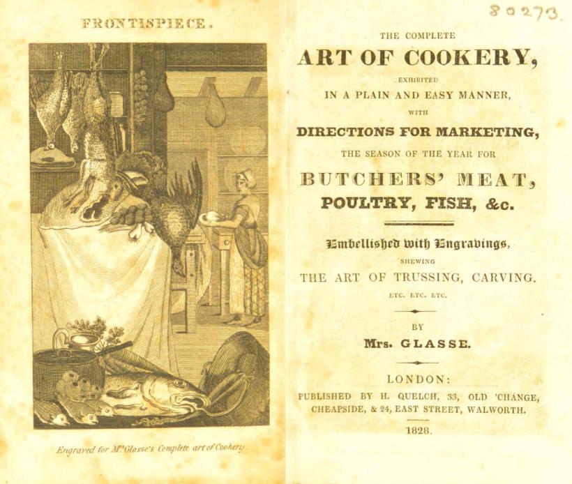 Искусство кулинарии. Ханна Гласс