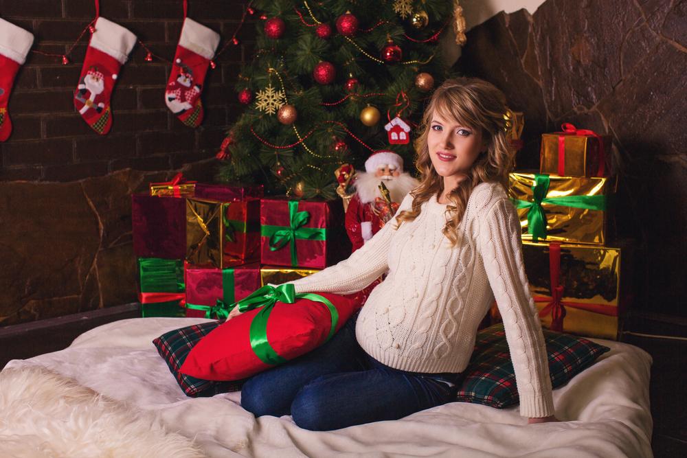 Как беременным встретить новый год