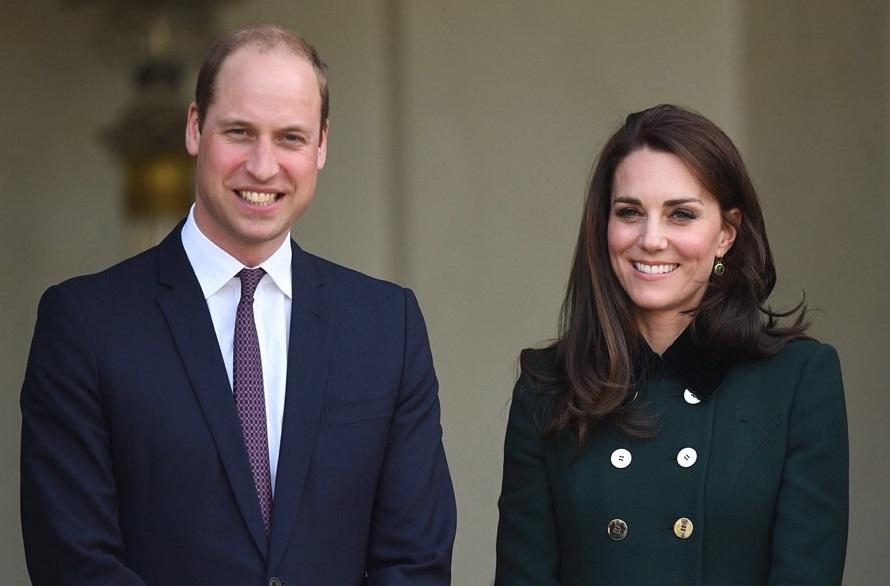 Герцоги Кембриджские показали подросшего принца Джорджа