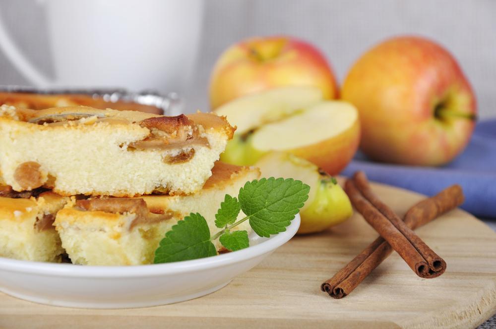 Пирог яблочный для детей