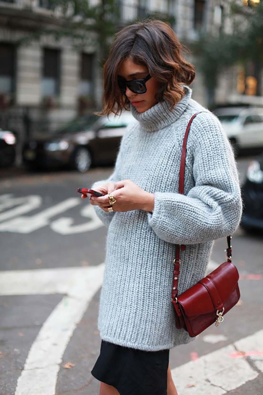 Теплый свитер – must have сезона