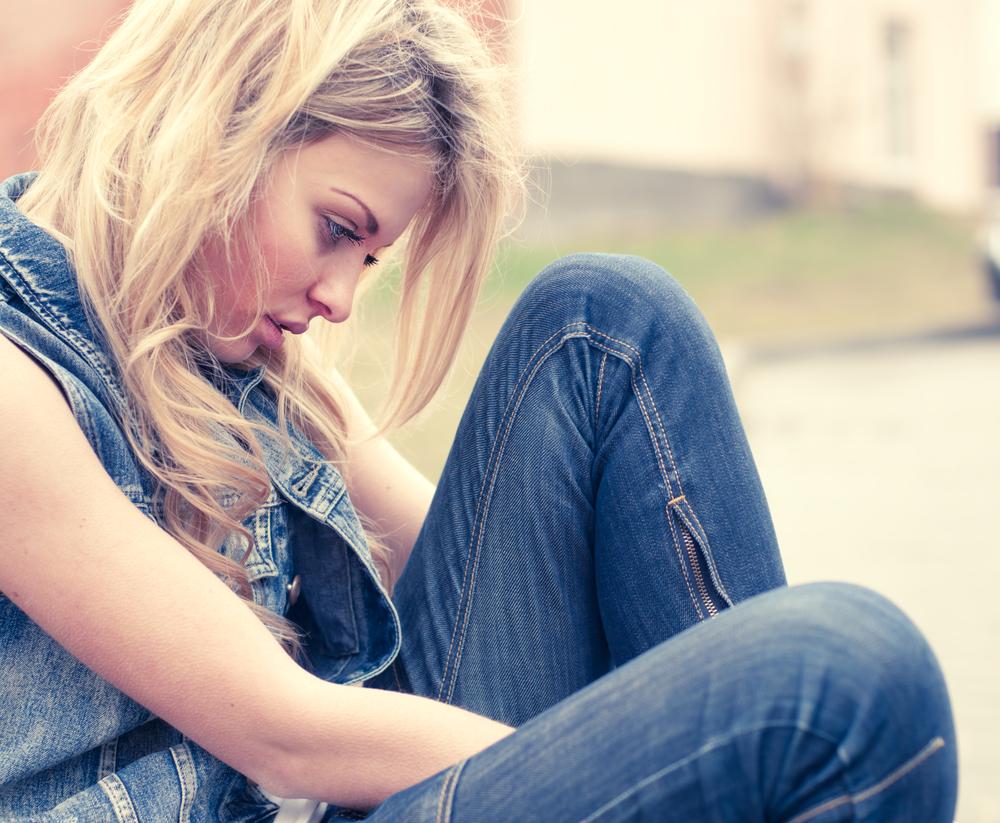 Девушка может простить сильную обиду