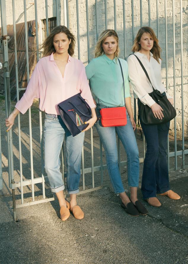 Дочери Мерил Стрип (слева направо): Грейс, Луиза и Мэми стали героинями модной рекламной кампании