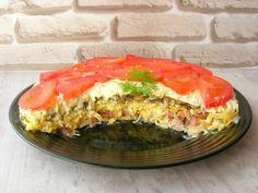 Рецепт дня: слоеный салат Чикаго с копченым окорочком