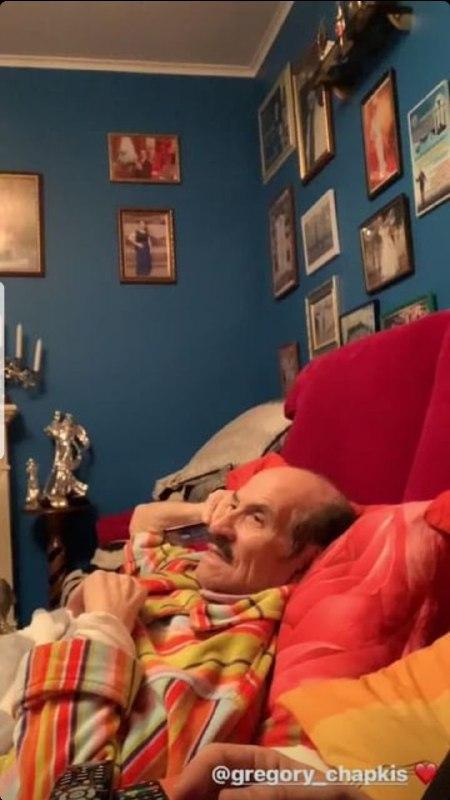 Сын Григория Чапкиса показал, как выглядит хореограф после третьей госпитализации