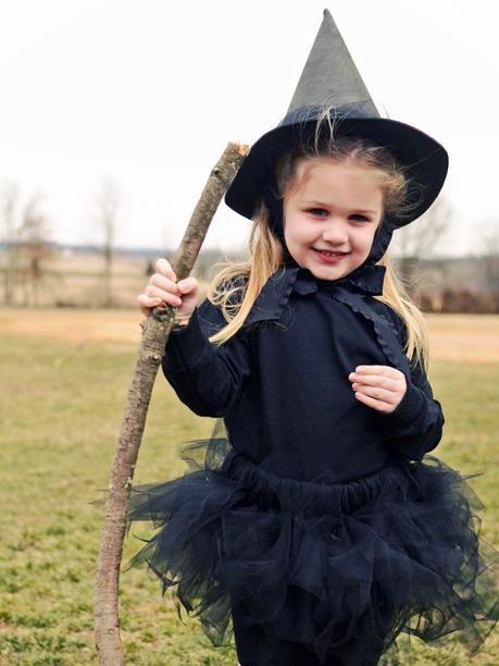 Костюмы на хэллоуин для детей для девочек своими руками 46