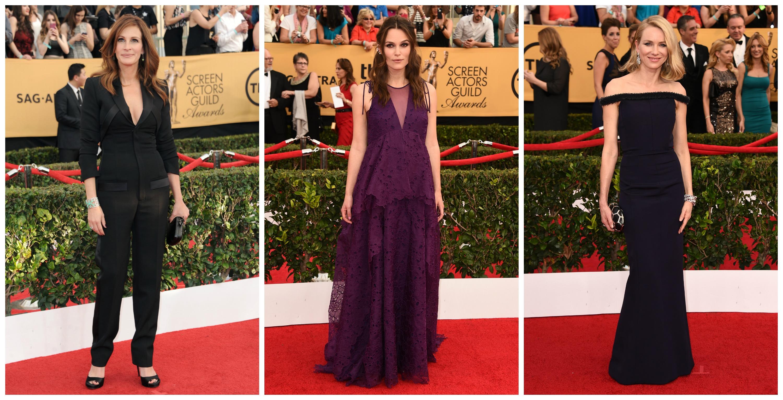 Звездные модницы порадовали грамотными образами на церемонии вручения премий SAG Awards 2015