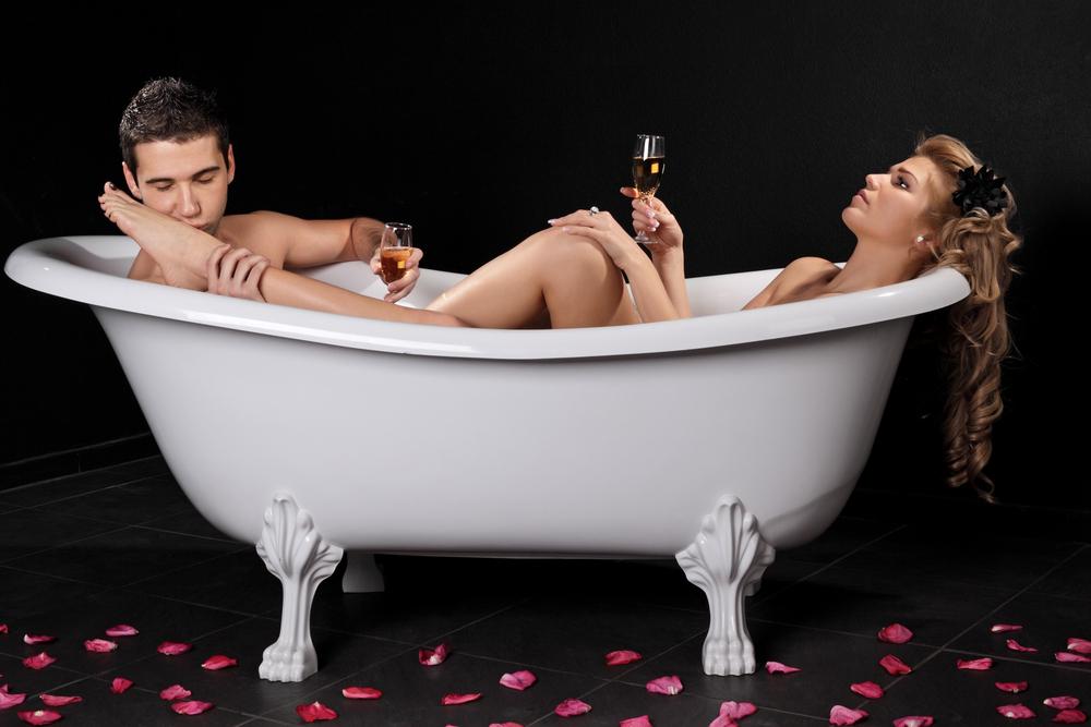 нежно ванне секс смотреть в