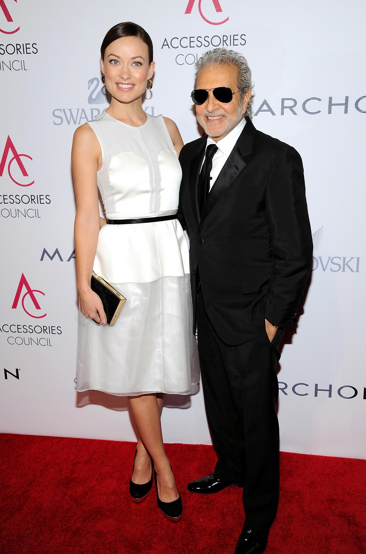 Винс Кэмуто со своей клиенткой Оливией Уайлд