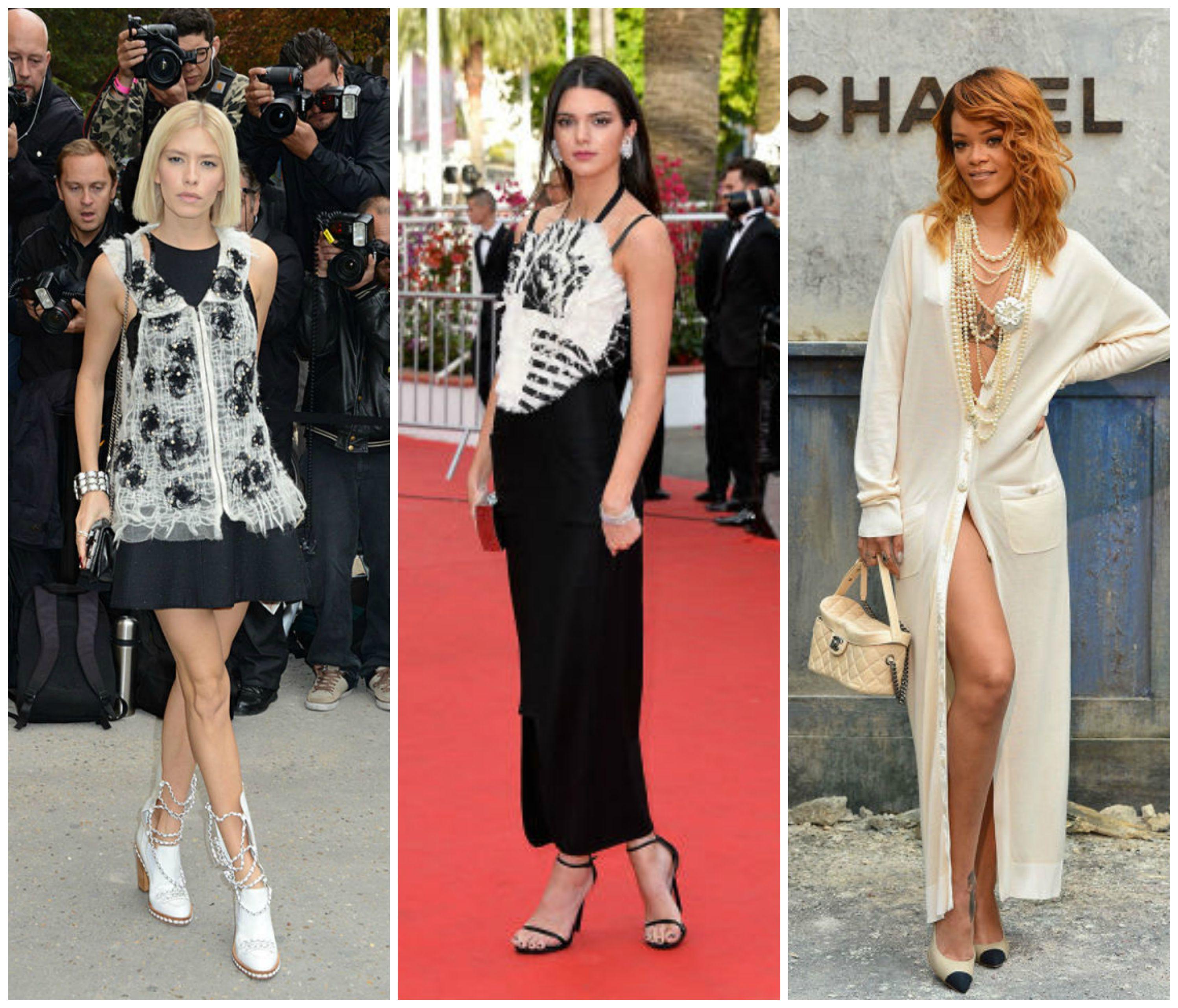 Звезды в нарядах Chanel