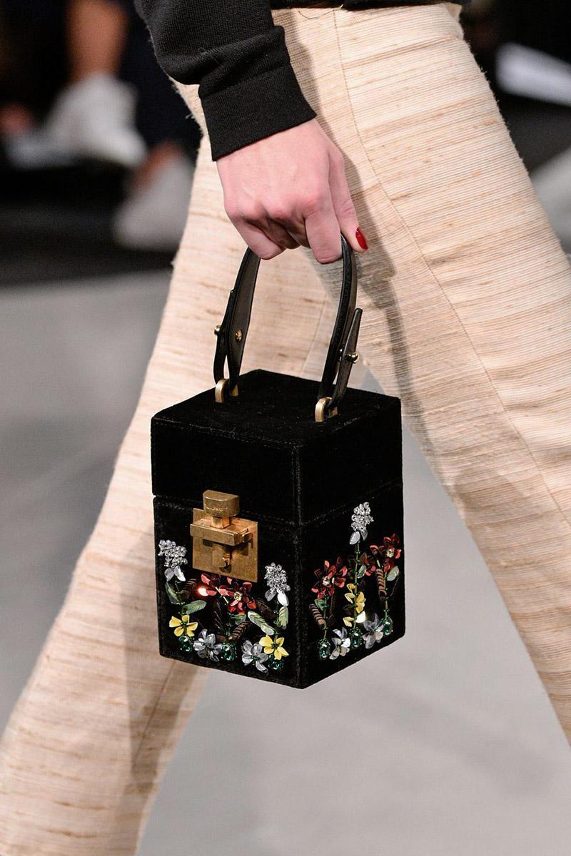 Необычные модные сумки на весну-лето 2020: Геометрия