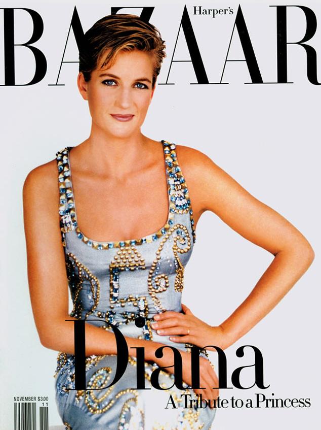 Принцесса Диана в шикарном платье от Versace