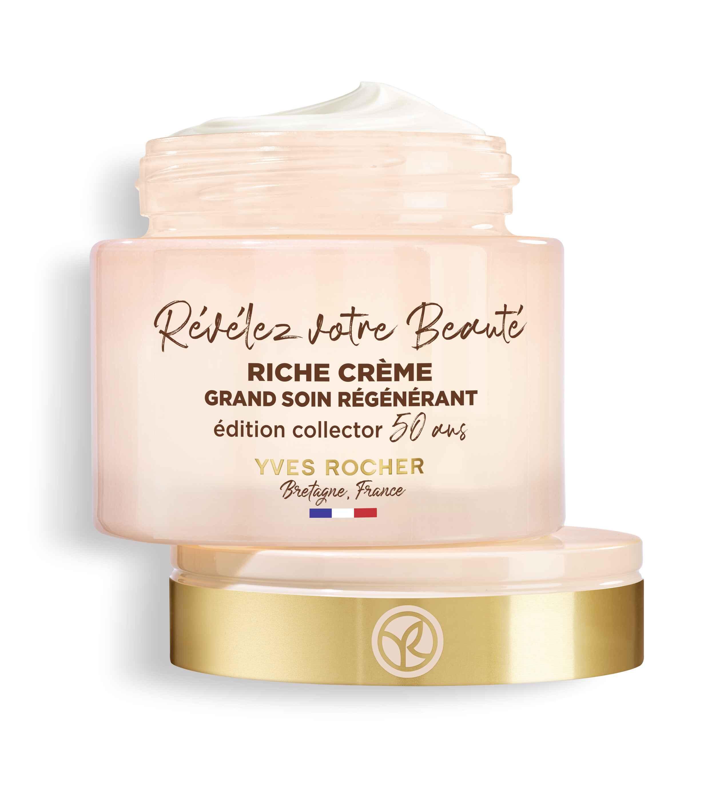 Восстанавливающий крем глубокого действия Yves Rocher Riche Crème