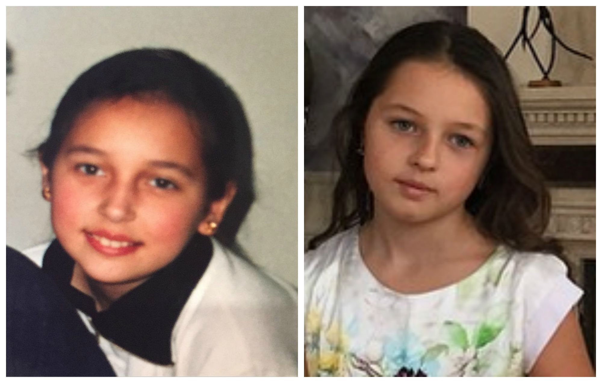 Певица Алсу в детстве (слева) и дочка Волочковой Ариадна (справа)