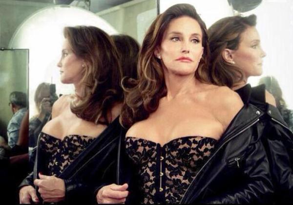 Телезвезда и модель Кэйтлин Дженнер в фотосессии для Vanity Fair