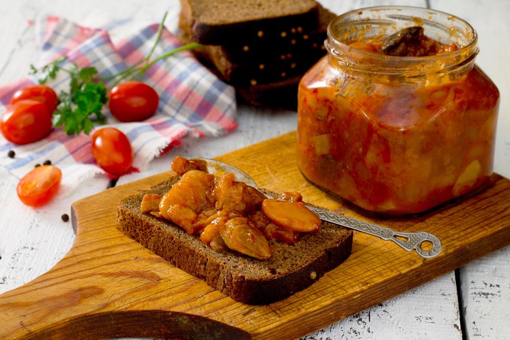 Салаты из баклажана на зиму рецепты
