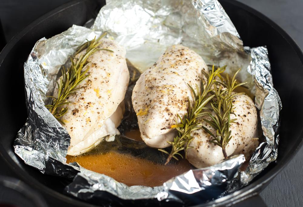 Рецепты приготовления куриного филе в фольге
