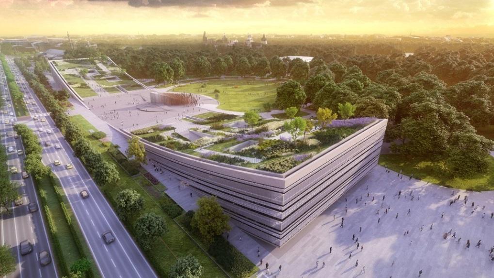 Проект здания этномузея в Будапеште