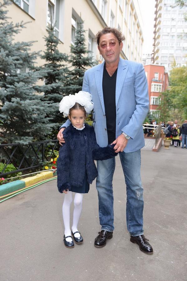 Григорий Лепс с дочкой Николь