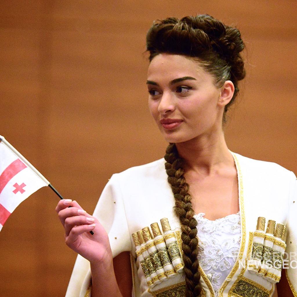 Победительница конкурса Мисс-Планета 2015 Тинатин Бабуани