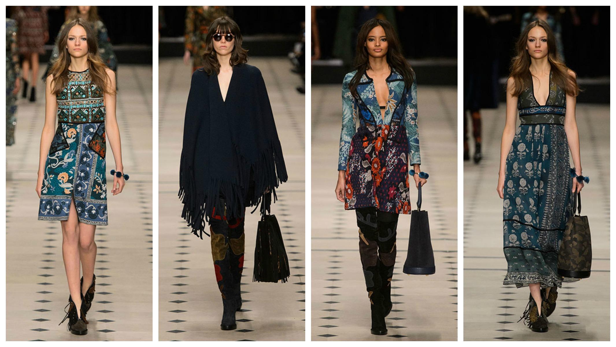 Неделя моды в Лондоне: Народные промыслы в коллекции Burberry